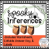 Halloween Activity Making Inferences Mystery Bags