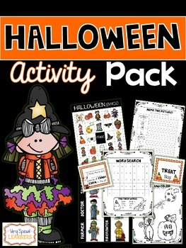 Halloween Activity Pack!
