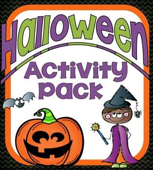 Halloween Activity Pack