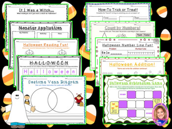 HALLOWEEN Activity Pack: Games, Recipes, Projects, and MORE!