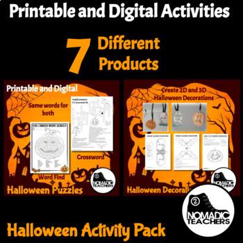 Halloween Activity Pack - 21 Activities