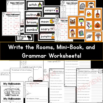 Halloween Literacy Activity Pack *61 pages!*