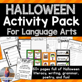 Halloween Activity Pack *61 pages!*