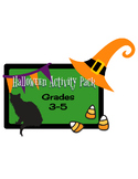 Halloween Activity Pack Grades 3-5