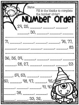 Halloween Activity Pack - Math & ELA