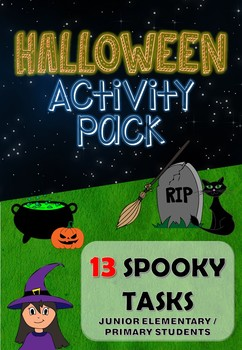 Halloween Activity Pack for Juniors (13 Spooky Tasks)