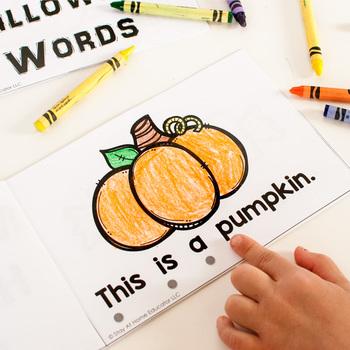Halloween Activity Pack for Preschoolers
