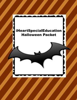Halloween Activity Packet