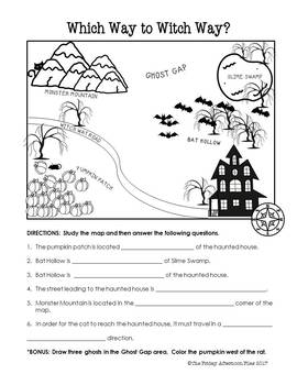 Halloween Literacy and Math Activity Packet