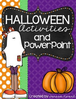 Halloween Activities for Grades 3-6
