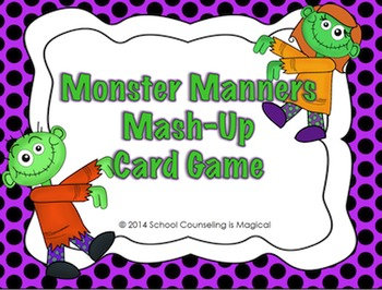 School Counselor Halloween Activity Bundle