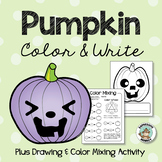 Halloween Activity: Pumpkin Coloring Pages