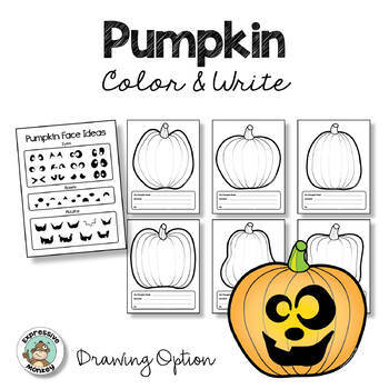 Halloween Activity Pumpkin Coloring Pages Tpt