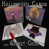 Halloween Activities - Secret Code Cards