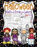 Halloween Activity Set K-1 Math Literacy Games Puzzles Writing