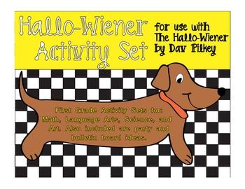 Halloween Activity Set Week based on The Hallo-Wiener by Dav Pilkey