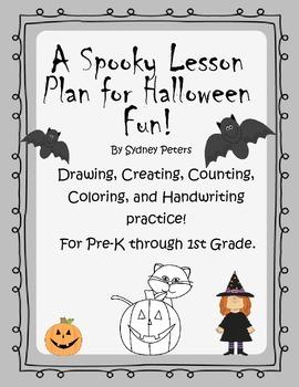 Halloween Activity Sheets and workbook FREEBIE!