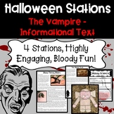 Halloween Activity: Vampire Stations