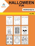 Halloween Activity Worksheets