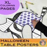 Halloween Activity   XL Halloween Coloring Pages   Great B