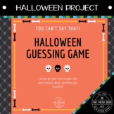 Halloween Activity - You Can't Say That! Halloween Game (T