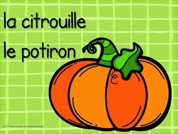 Halloween Activity and Poster Pack for Elementary French Class