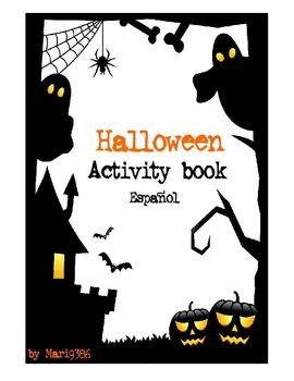 Halloween Activity book - Spanish - Español