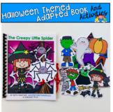 """Halloween Adapted Book And Activities:  """"The Creepy Little Spider"""""""