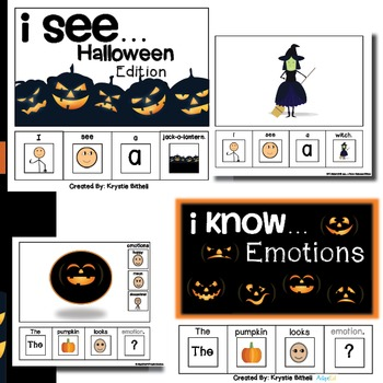 Halloween Adapted Book BUNDLE