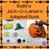 Halloween Adapted Book Build a Jack-O-Lantern for Autism a