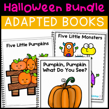 Halloween Adapted Book Bundle: 2 Adapted Books for Special Education
