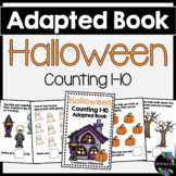 Halloween Adapted Book (Counting 1-10)