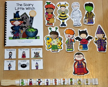 """Halloween Adapted Book--""""The Scary Little Witch"""""""