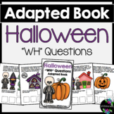 Halloween Adapted Book (WH Questions)