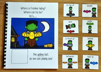 "Halloween Adapted Book:  ""Where Is Frankie Hiding?"""