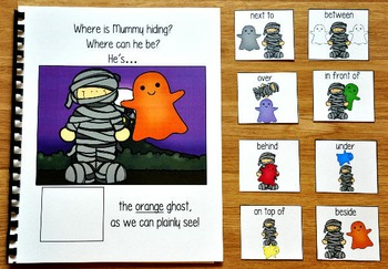 "Halloween Adapted Book:  ""Where Is Mummy Hiding?"""
