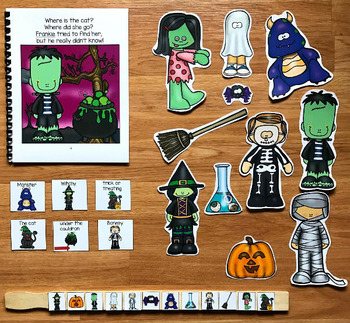 """Halloween Adapted Book:  """"Where Is the Cat?"""""""
