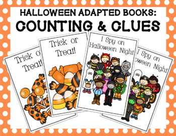 Halloween Adapted Books Bundle: Counting and Clues