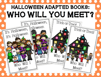 Halloween Adapted Books Bundle: Who Will You Meet?