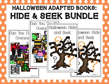 Halloween Adapted Books: Hide & Seek Bundle