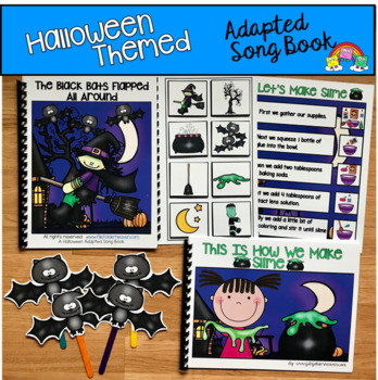 """Halloween Adapted Books: """"The Black Bats Flapped All Around"""""""