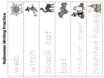 Halloween Adapted Interactive Book {Pre K, K, Autism, Special Education}