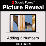 Halloween: Adding 3 Numbers - Google Forms Math Game | Dis