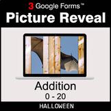 Halloween: Addition 0-20 - Google Forms Math Game | Distan