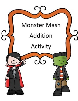 Halloween Addition Activity: Monster Mash