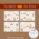 Halloween Math Bingo - Addition - Mental Math
