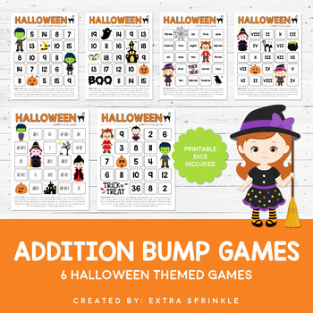 Halloween Addition Bump Games