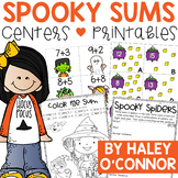 Halloween Addition Centers {Math Workstations and Activities}