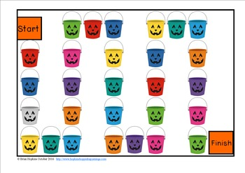 Halloween Addition Facts Race
