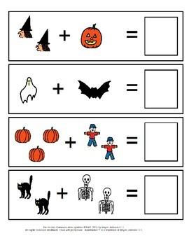 Halloween Addition File Folder Games